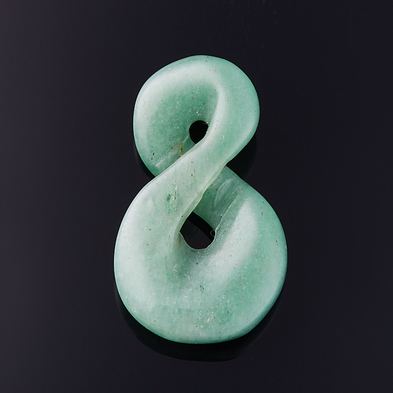 Кулон авантюрин зеленый  3,5 см бусина авантюрин зеленый шайба 6 6 5 мм 1 шт