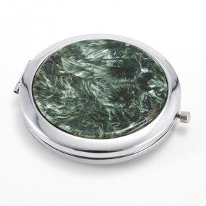 Зеркало клинохлор (серафинит) Россия 7 см