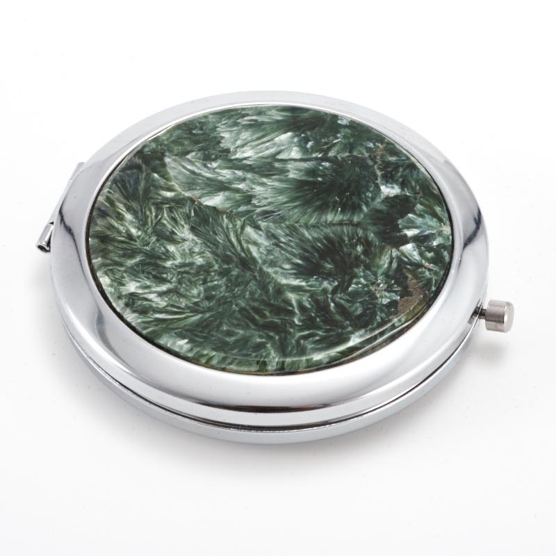 Зеркало клинохлор (серафинит)  7 см от Mineralmarket