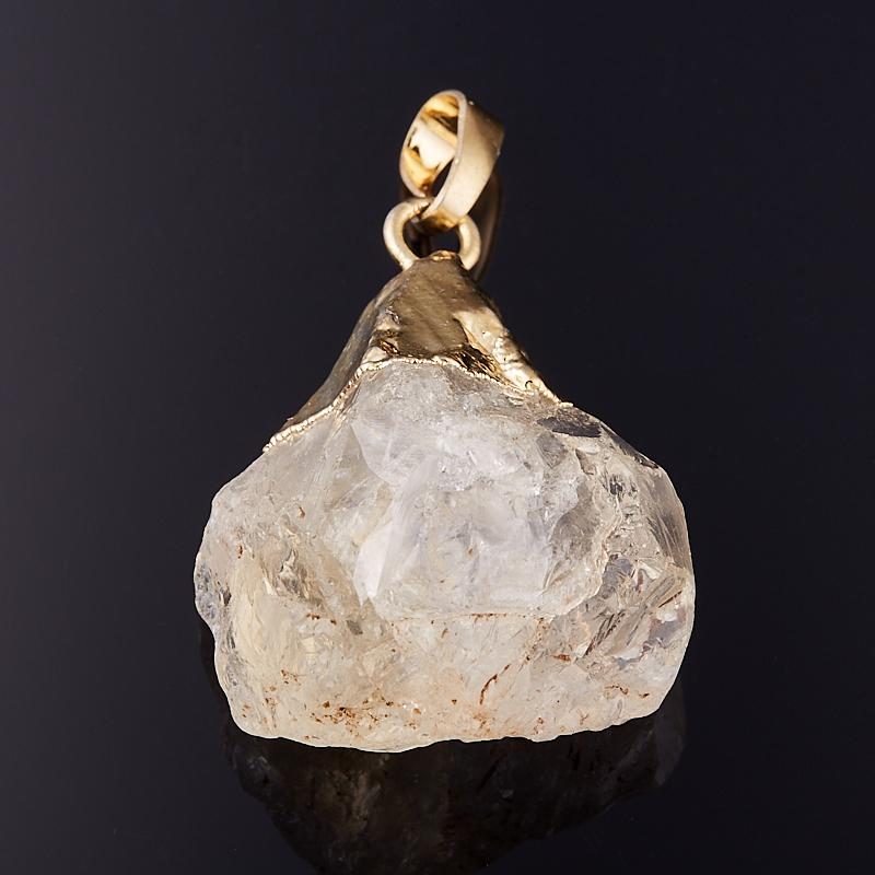 Кулон цитрин  кристалл 3,5 см