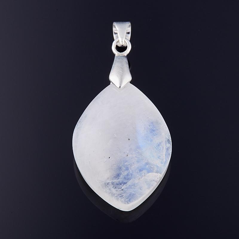 Кулон лунный камень  капля 4 см