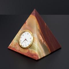 Часы пирамида оникс мраморный Пакистан 5 см