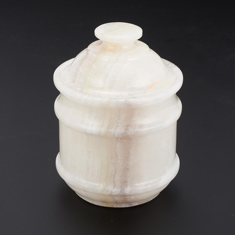 Сахарница оникс мраморный  8,5х11,5 см