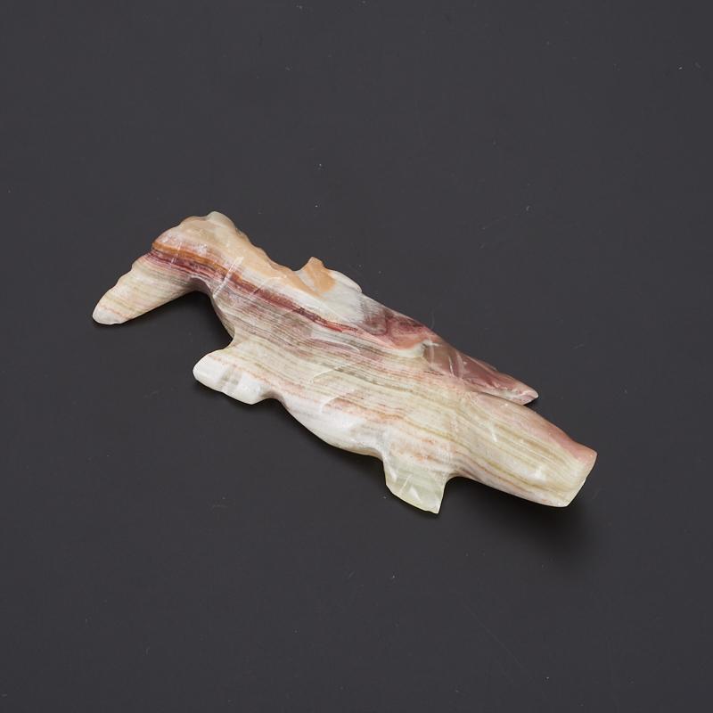 Крокодил оникс мраморный 10,5 см подсвечник оникс мраморный 5х12 см