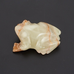 Лягушка оникс мраморный Пакистан 7 см