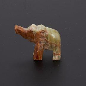 Слон оникс мраморный Пакистан 5 см