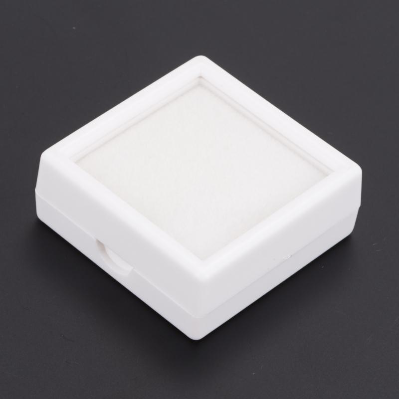 Бокс для хранения кабошонов/огранки пластик 40х40х15 мм бокс для хранения s zone