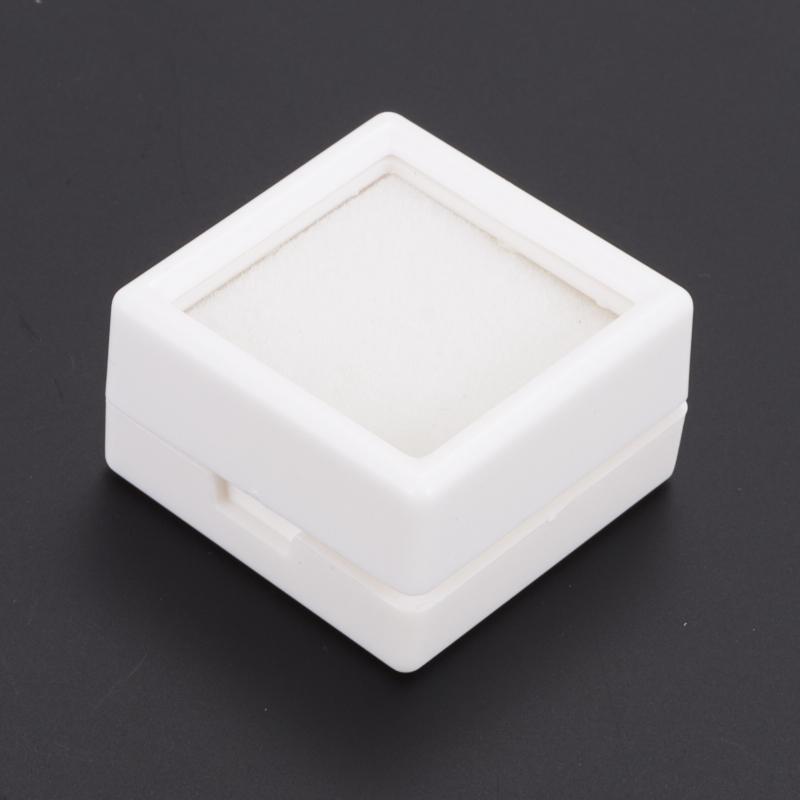 Бокс для хранения кабошонов/огранки пластик 25х25х15 мм бокс для хранения вещей breno 252