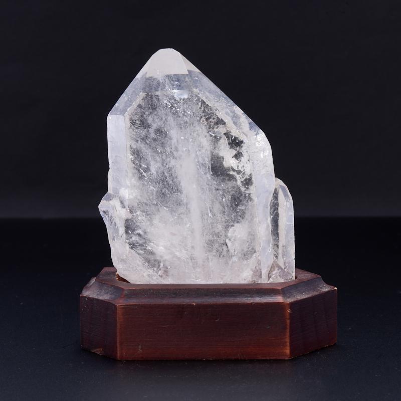Кристалл (сросток) горный хрусталь на подставке  M кристалл горный хрусталь сросток m