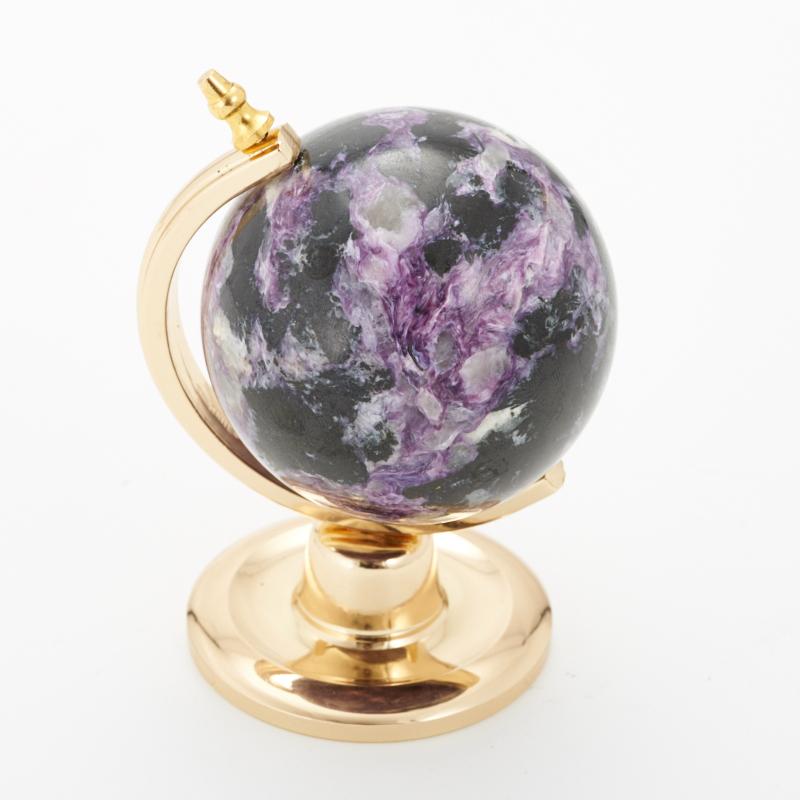 Глобус чароит  8,5 см