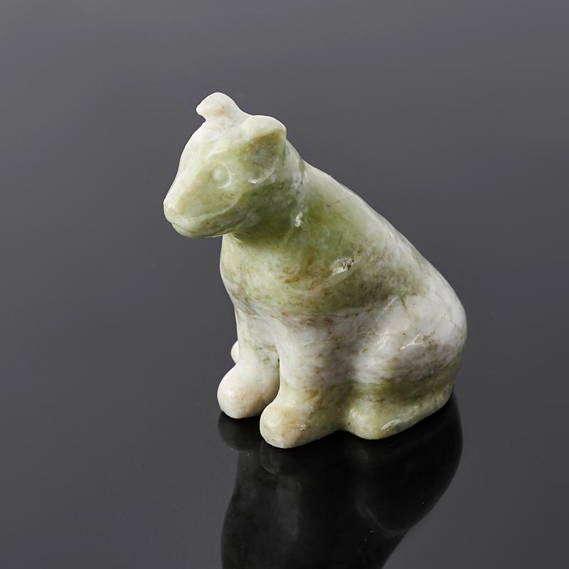 Собака офиокальцит 4,5 см фото