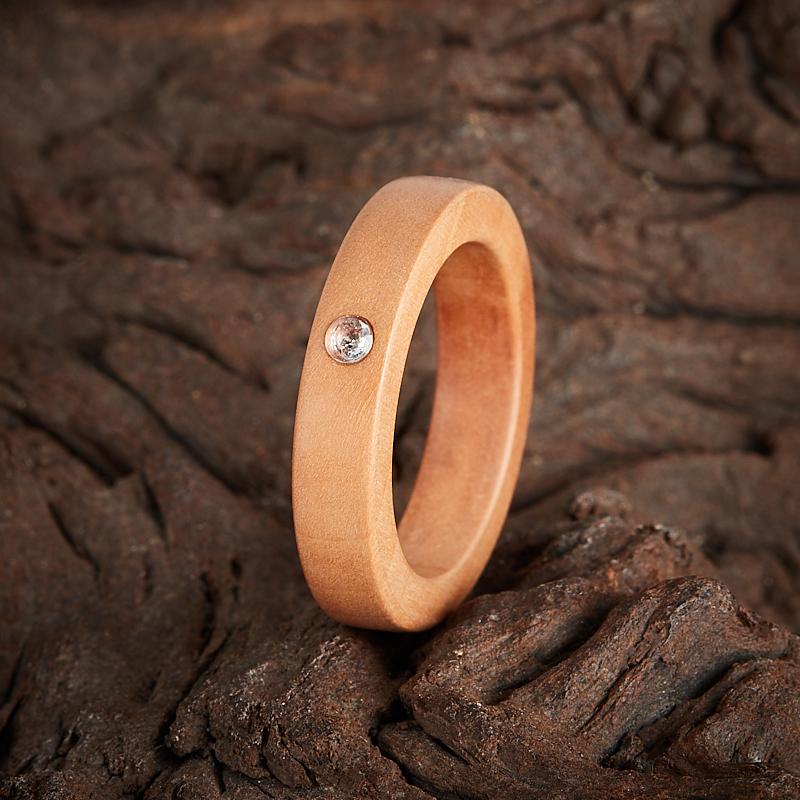 Кольцо топаз голубой огранка (дерево) размер 18 кольцо голубой топаз chantal кольцо голубой топаз
