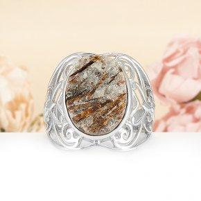 Кольцо астрофиллит Россия (серебро 925 пр.) размер 19