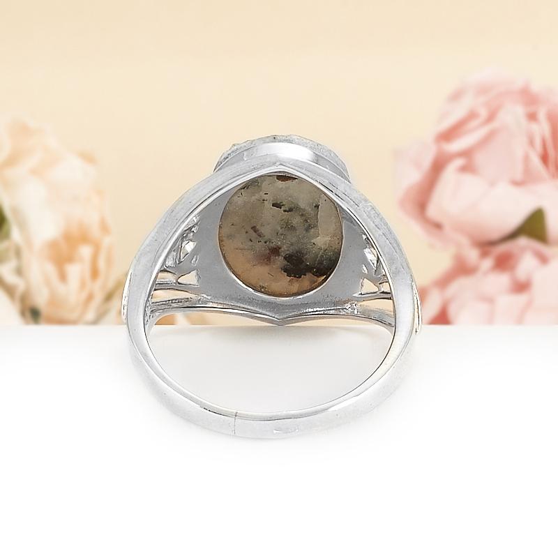 Кольцо астрофиллит Россия (серебро 925 пр.) размер 20