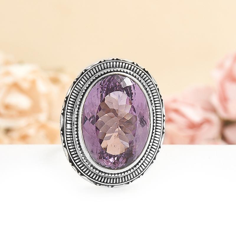 Кольцо аметист  огранка (серебро 925 пр.) размер 19 кольцо аметист серебро 925 пр размер 19 5