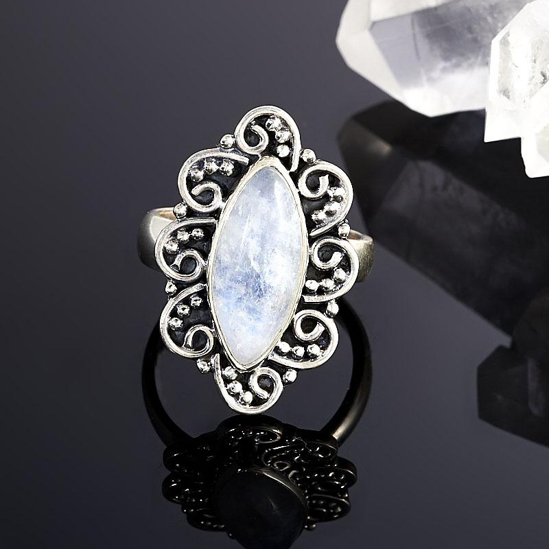 Кольцо лунный камень (серебро 925 пр.) размер 18 ar535 925 чистое серебро кольцо 925 серебро ювелирные изделия кокосовый орех вал инкрустированные красный камень bdbajuia dsyamkfa