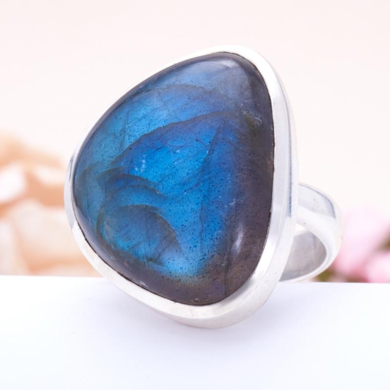 Кольцо лабрадор  (серебро 925 пр.) размер 18 кольцо фосфосидерит серебро 925 пр размер 18