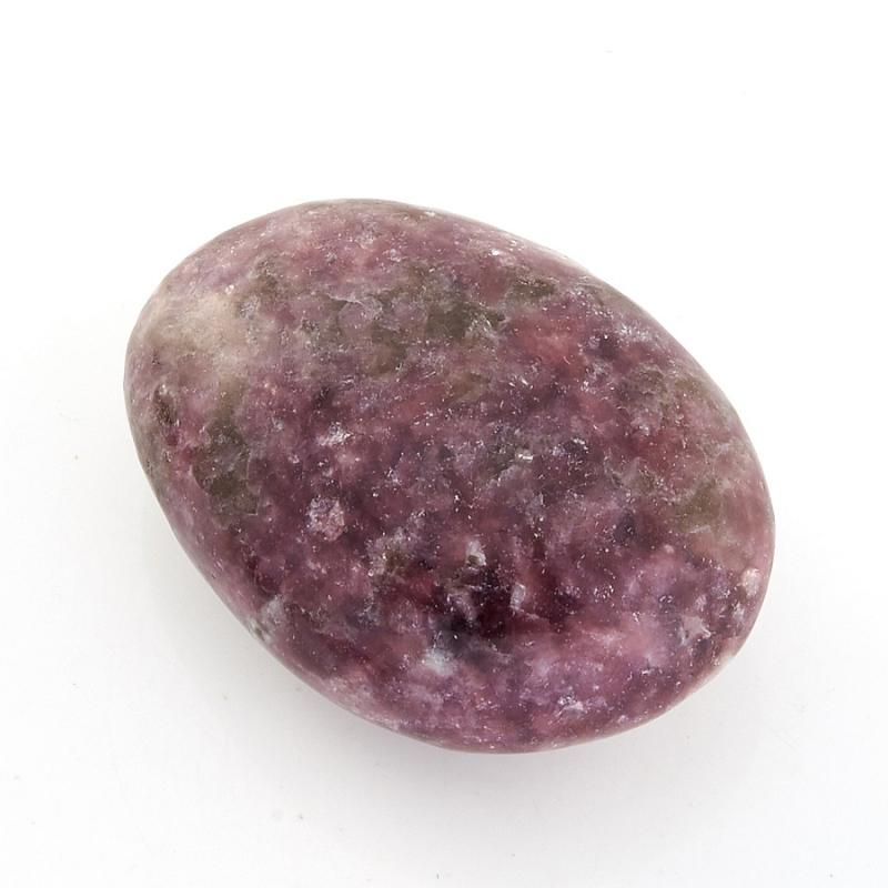 Галтовка лепидолит Бразилия (2,5-3 см) 1 шт