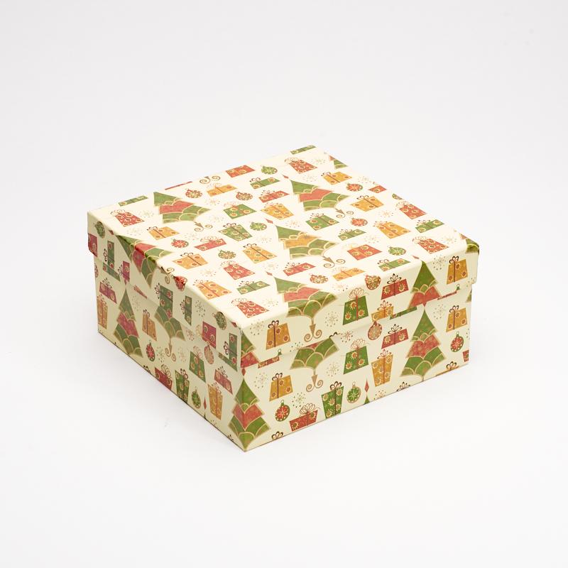 Подарочная упаковка 195х195х95 мм