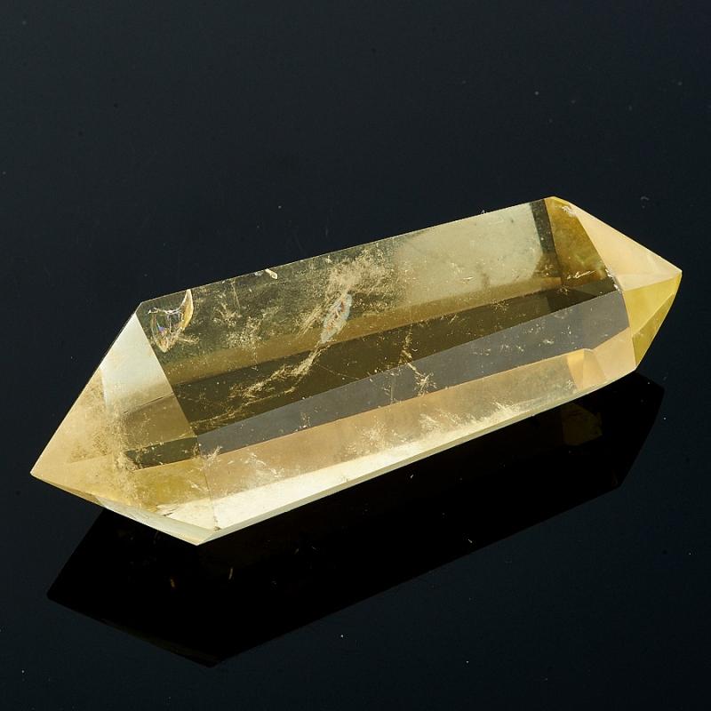 Двухголовый кристалл Цитрина  Бразилия (ограненный)