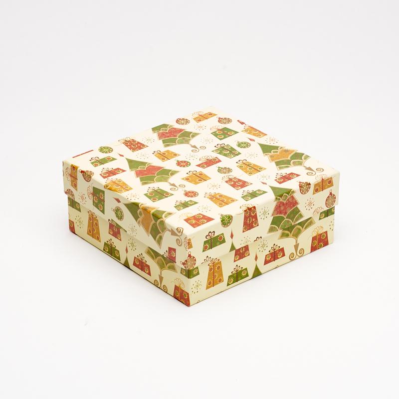 Подарочная упаковка универсальная 160х160х65 мм подарочная упаковка классическая до 20см