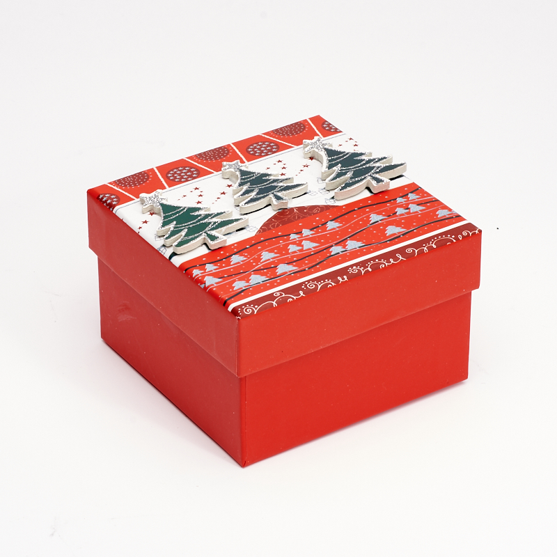 Подарочная упаковка 110х110х75 мм