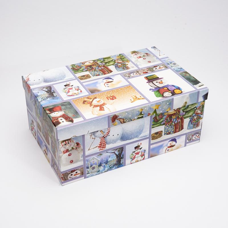 Подарочная упаковка универсальная 310х205х130 мм