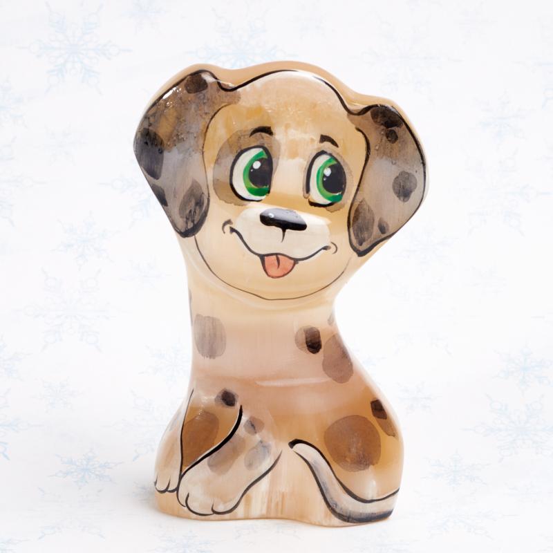 Собака Далматинец селенит  9 см