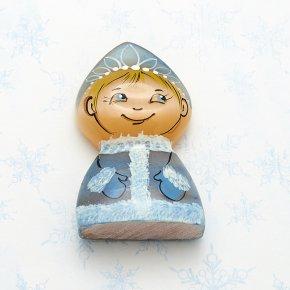 Снегурочка маленькая селенит Россия 5,5 см