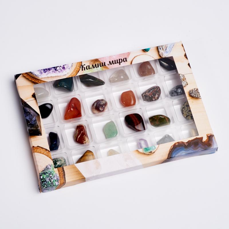 Коллекция камней и минералов №3 (2-3 см) new and original omron cs1w mad44 analog input output unit