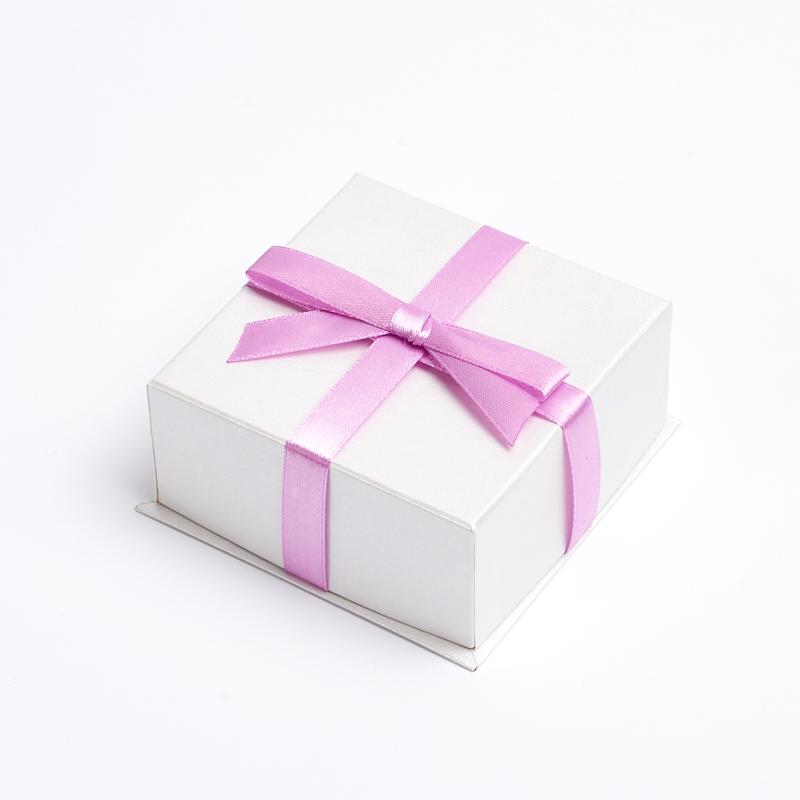 Подарочная упаковка под комплект (серьги, кольцо) 100х100х45 мм цена 2017