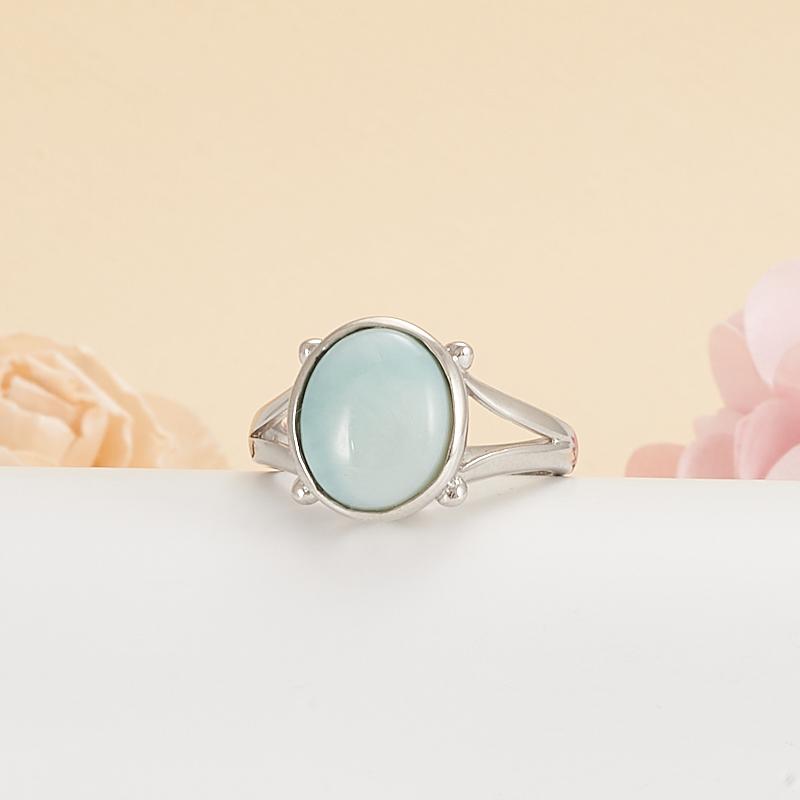 Кольцо ларимар нская Республика (серебро 925 пр.) размер 18,5 кольцо авантюрин зеленый серебро 925 пр размер 18
