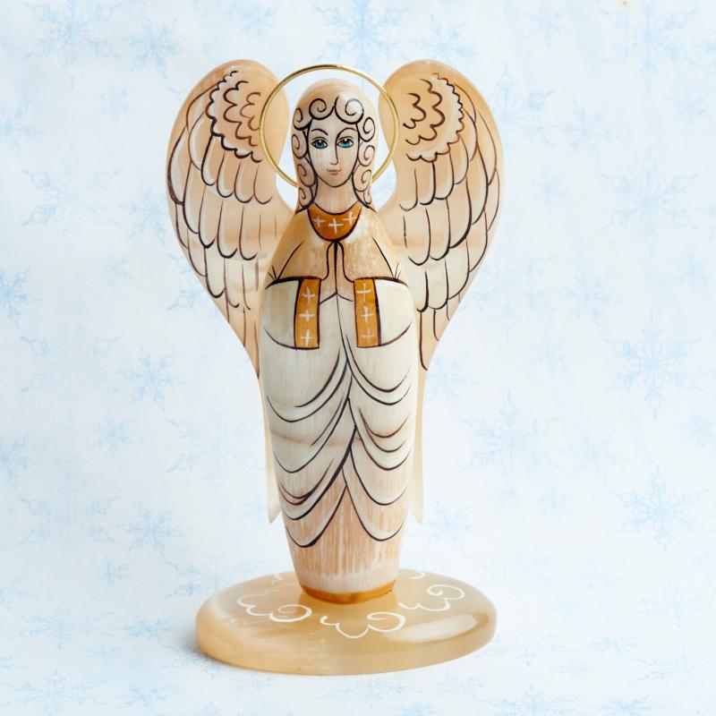 Ангел селенит 12,5 см