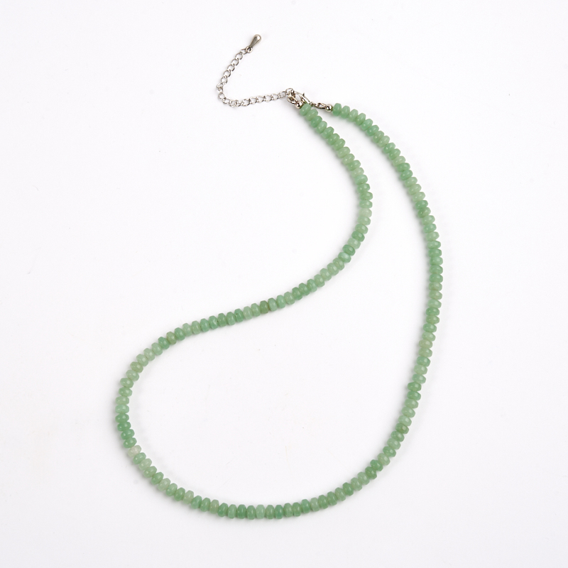 Бусы авантюрин зеленый  6 мм 47-53 см бусина авантюрин зеленый шайба 6 6 5 мм 1 шт