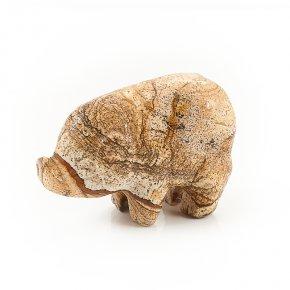 Свинка яшма рисунчатая Намибия 5 см