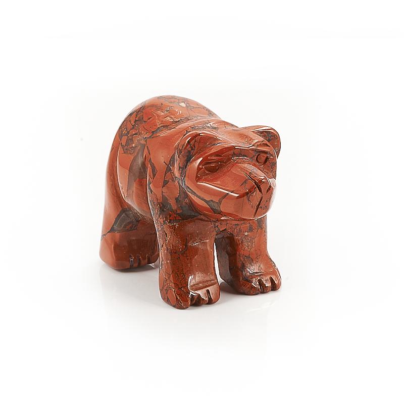 Медведь яшма брекчиевая 5 см браслет яшма брекчиевая 20 см