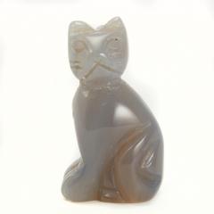 Котик агат серый Ботсвана 3 см