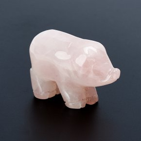 Свинка розовый кварц Намибия 5 см