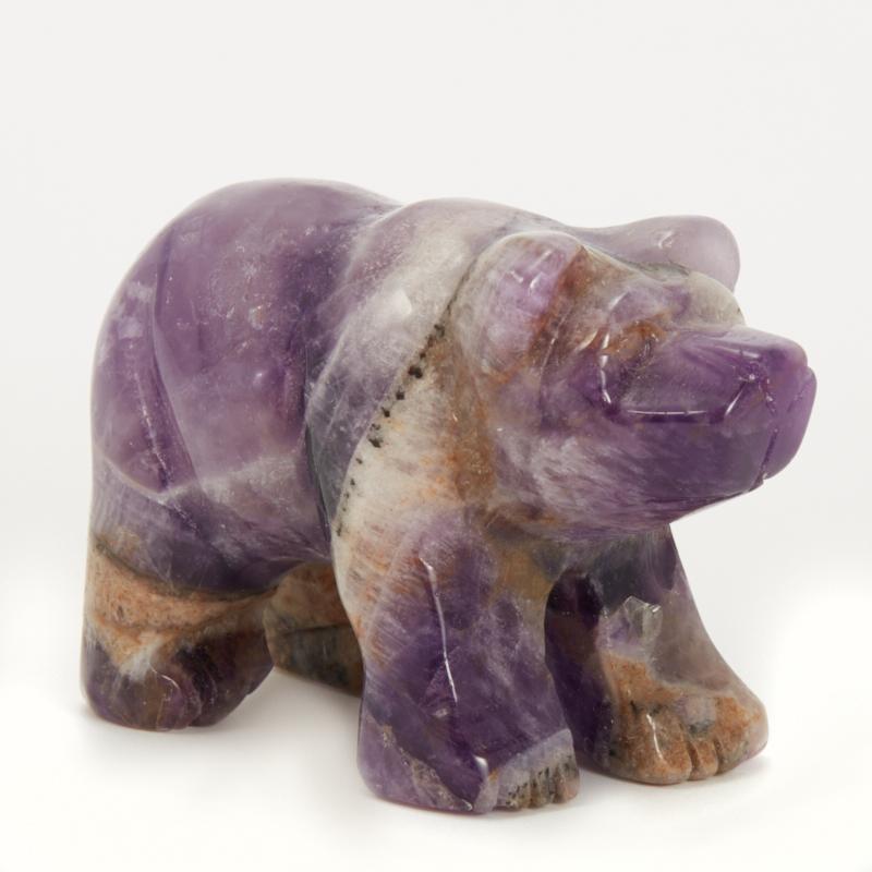 Медведь аметист 4,5-5 см