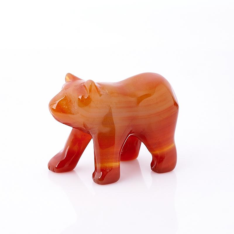Медведь сердолик Ботсвана 4,5-5 см