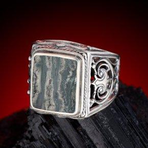 Кольцо тингуаит Россия (серебро 925 пр.) размер 20