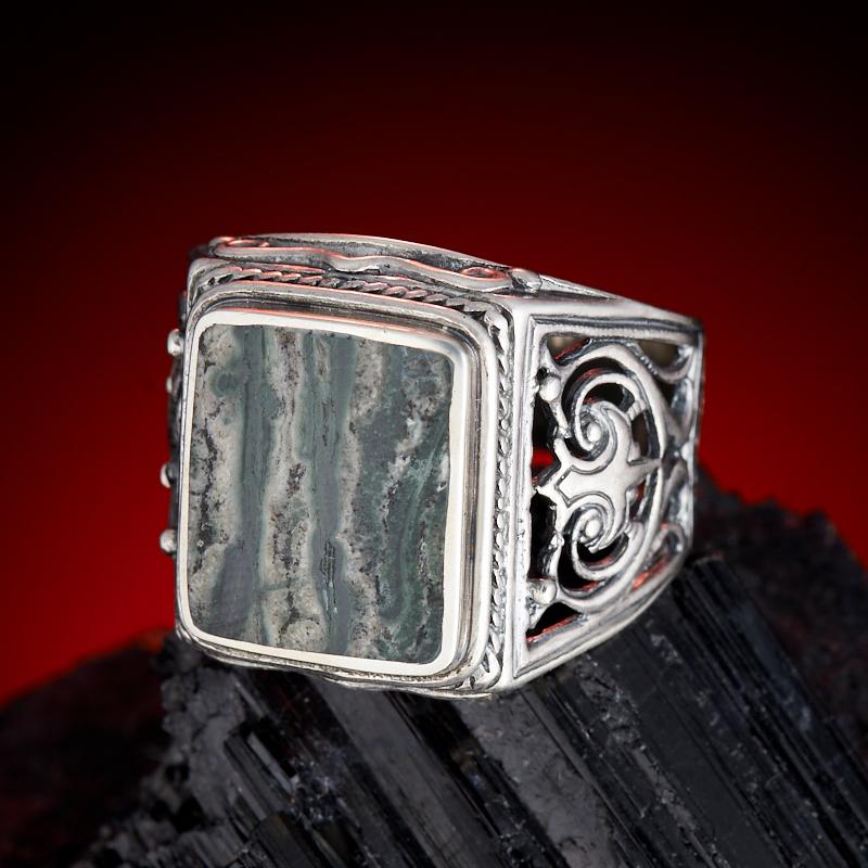 Кольцо тингуаит  (серебро 925 пр.) размер 20 кольцо авантюрин зеленый серебро 925 пр размер 18