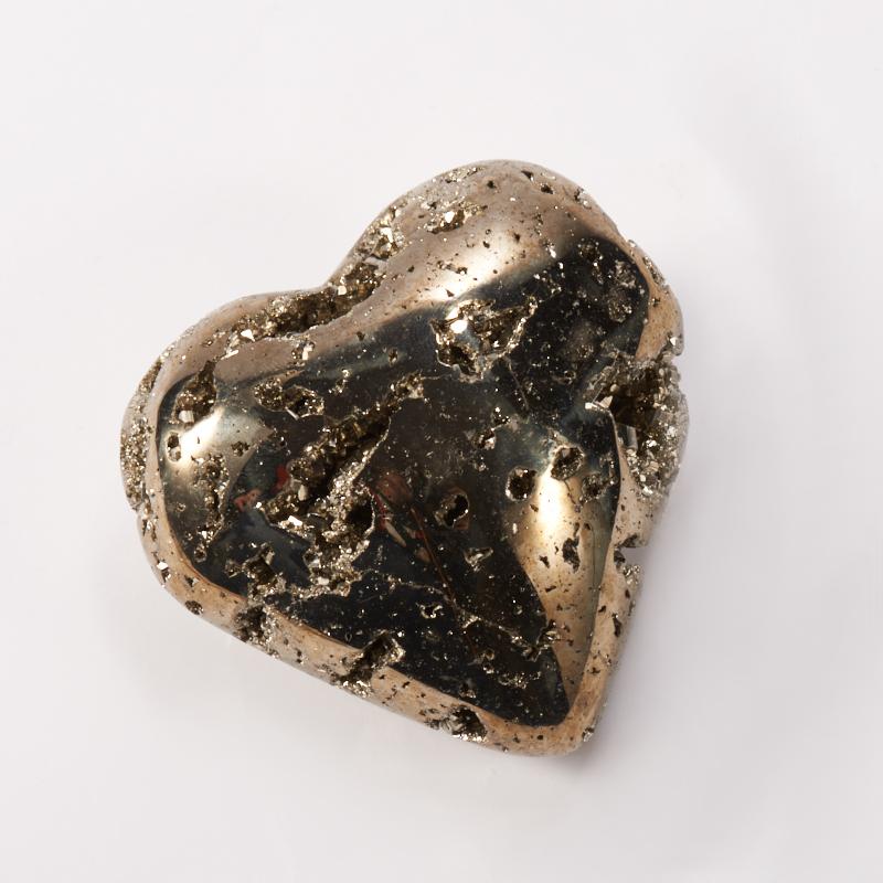 Сердечко пирит  5,5 см