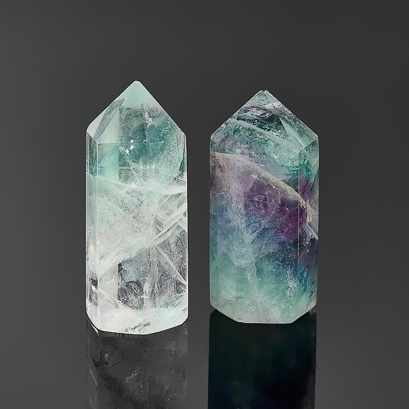 Кристалл флюорит зеленый  (3-4 см) 1 шт