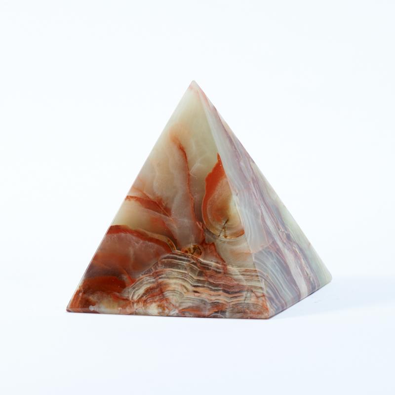 Пирамида оникс мраморный 7 см дельфин оникс мраморный 8х13 см