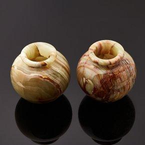 Горшок оникс мраморный Пакистан 7х7,5 см