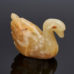 Лебедь оникс мраморный Пакистан 6-6,5 см