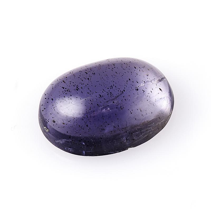 Кабошон иолит (кордиерит) 6*8 мм кабошон фосфосидерит 18 мм