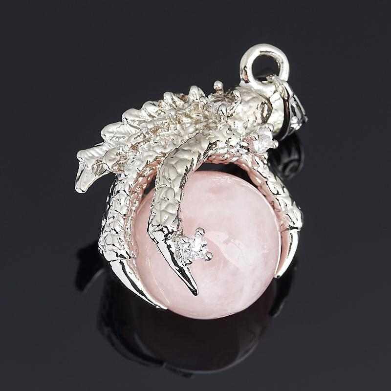 Кулон лапа орла розовый кварц 4 см фадеев владимир алексеевич возвращение орла том 2