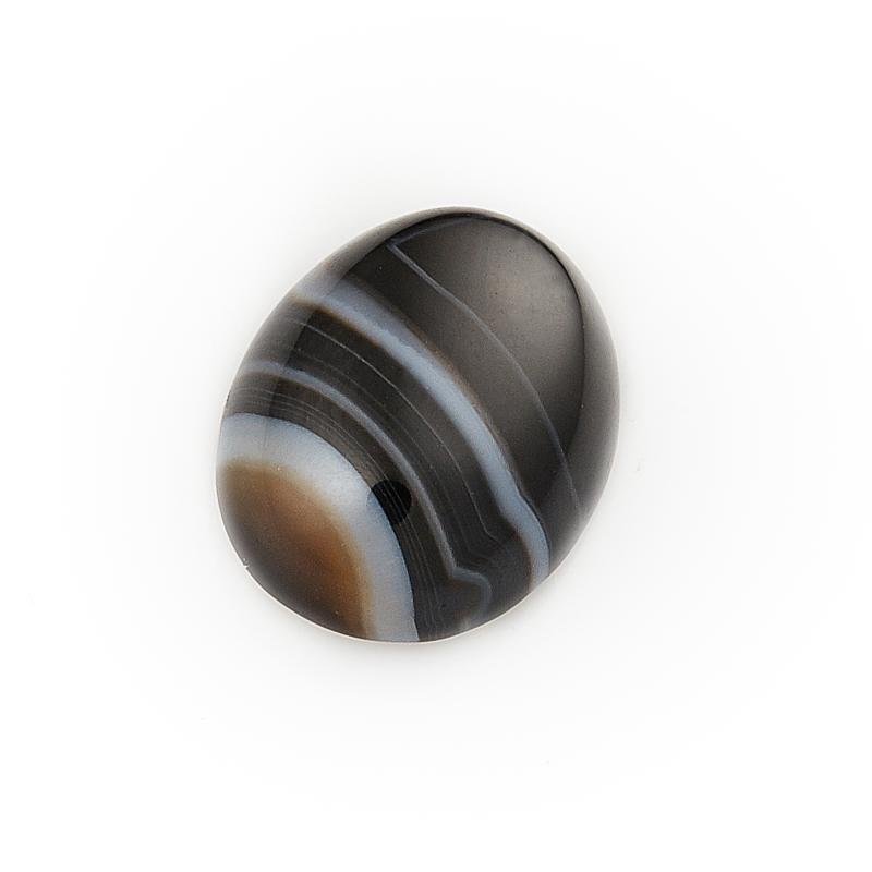 Кабошон агат черный  10*14 мм кабошон агат серый 8 12 мм